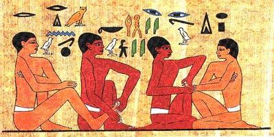 Fresque Egypte
